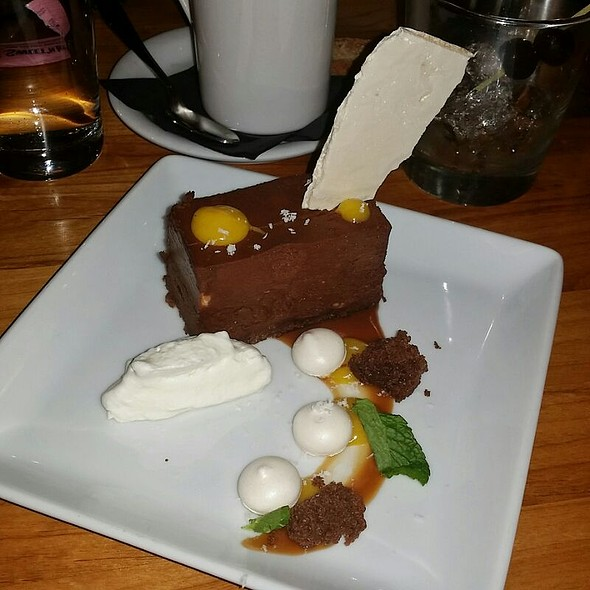 Chocolate Terrine @ Tinderbox Kitchen