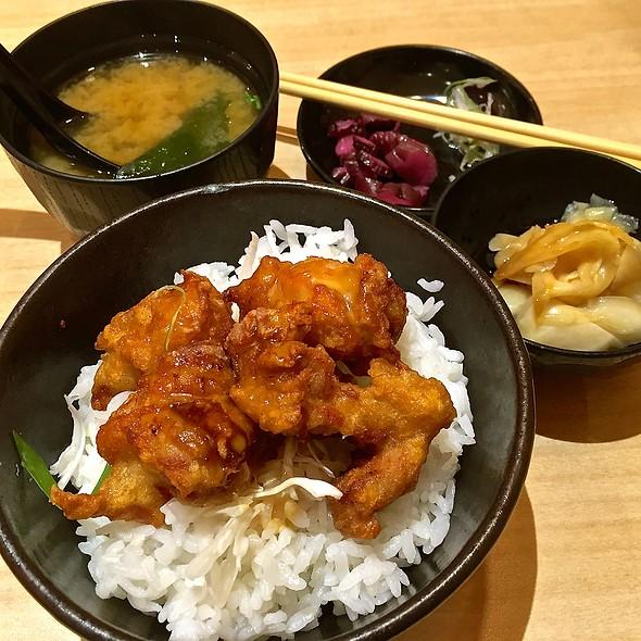 Chicken Karaage Minidon @ Ichiban Sushi - Lorong 6 Toa Payoh