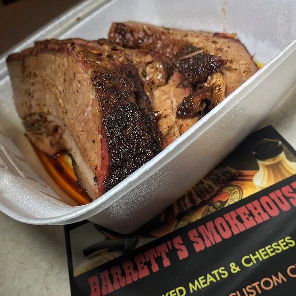 Beef Brisket @ Barrett's Smokehouse