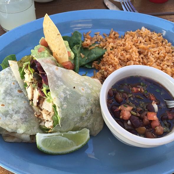 Chicken Fajita Wrap @ Lupe Tortillas Mexican Restaurant