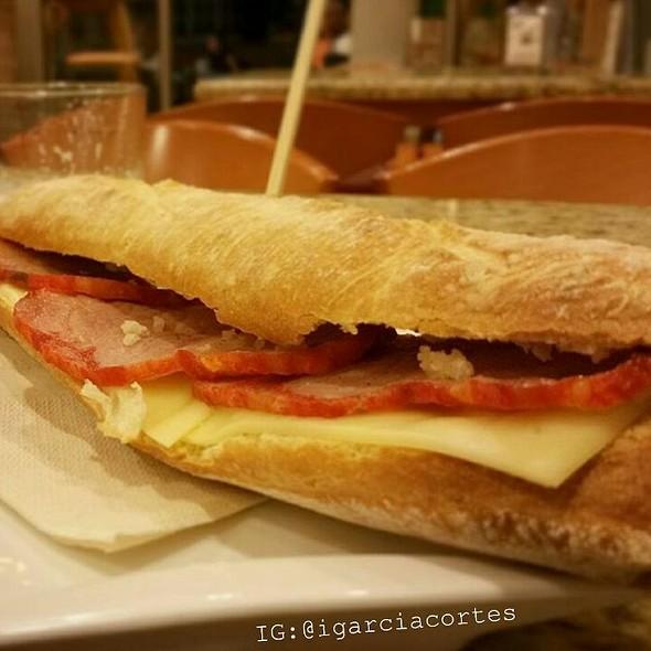 Pork Loin With Cheese Sandwich @ Cafetería Heladería Enrique Rech