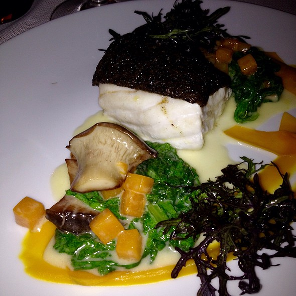 Halibut Was Perfect And The Mushrooms  The Most Delicious Ever.