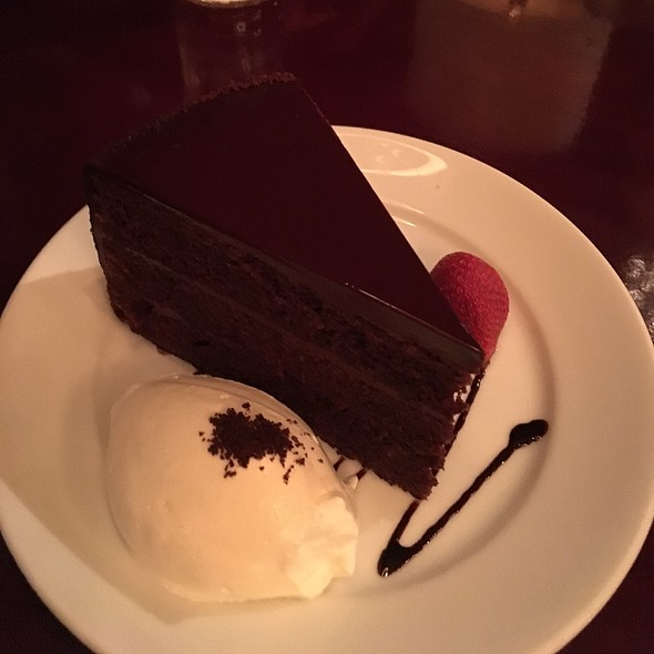 Devil's Food Cake - Porter House Bar and Grill, New York, NY