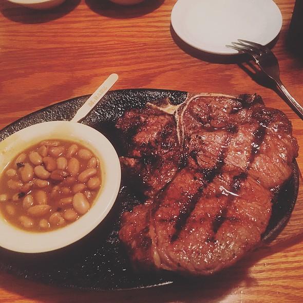 Tbone 16Oz @ Silver Saddle Steakhouse