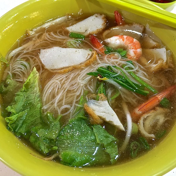 Prawn Bee Hoon Soup @ Blk 186 Toa Payoh Central
