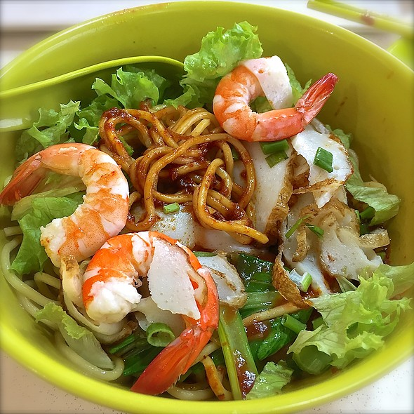 Dry Prawn Mee @ Blk 186 Toa Payoh Central