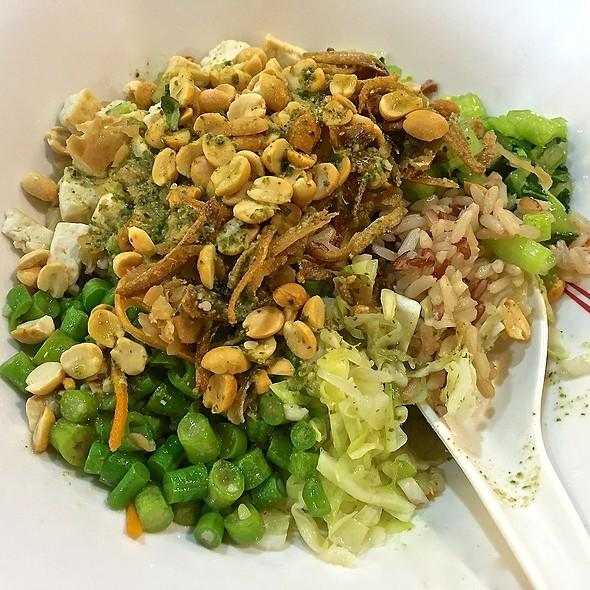 Thunder Tea Brown Rice @ Gourmet Paradise