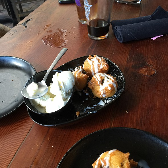 Fried Oreos @ The Brass Tap
