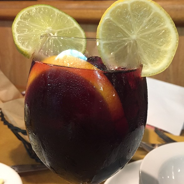 Mickey Sangria! @ The Garden Grill Restaurant