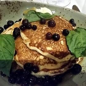Lemon Ricotta Pancakes - Bin 36, Chicago, IL