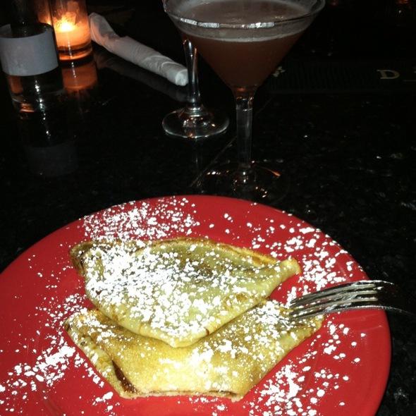 Crepes @ Cafe Bonaparte