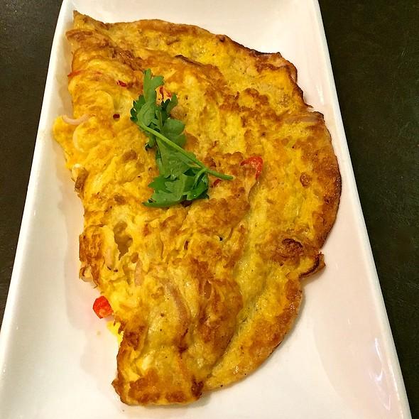 Chinchalok Omelette @ Grandma's Restaurant (Raffles City)