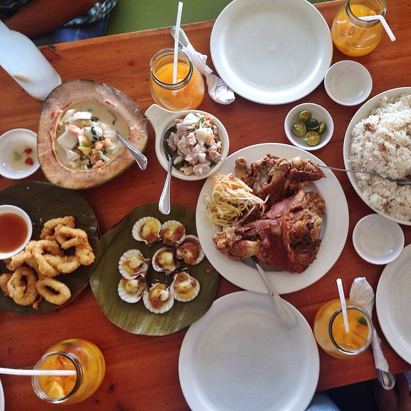 Filipino Lunch