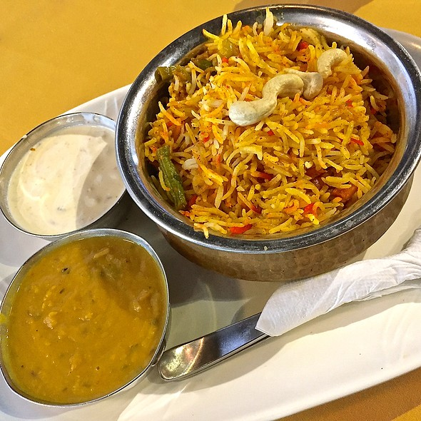 Veg Biryani @ Food On Fire