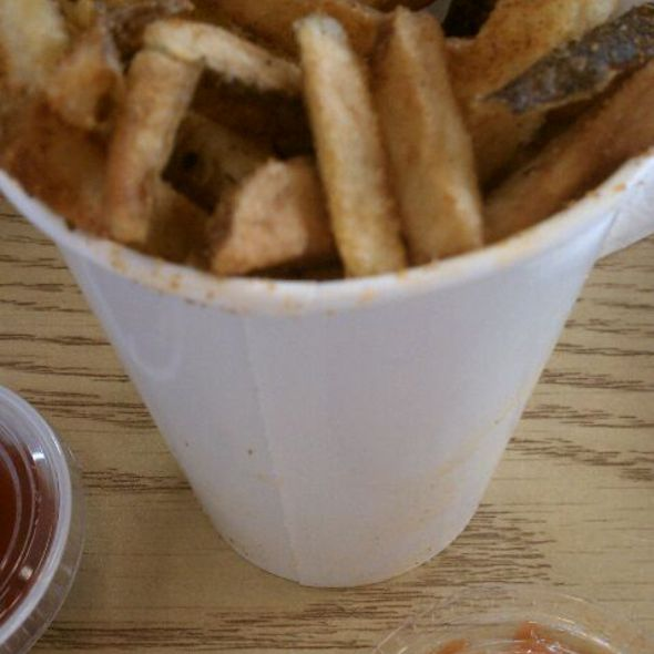 Cajun French Fries @ Five Guys Burgers and Fries