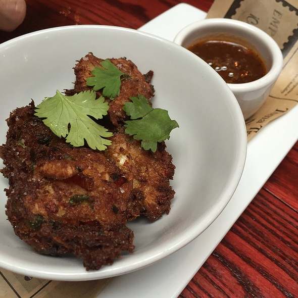 Coconut Crab Fritters