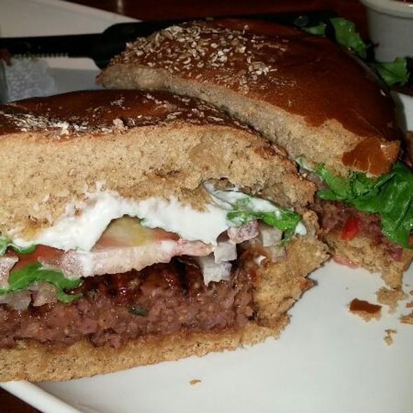 Veggie Burger - Village Tavern Alpharetta, Alpharetta, GA