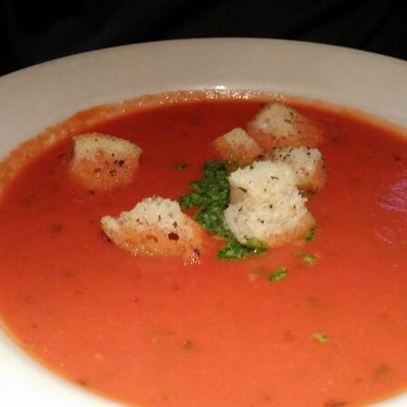 Tomato Basil Soup - Village Tavern Alpharetta, Alpharetta, GA