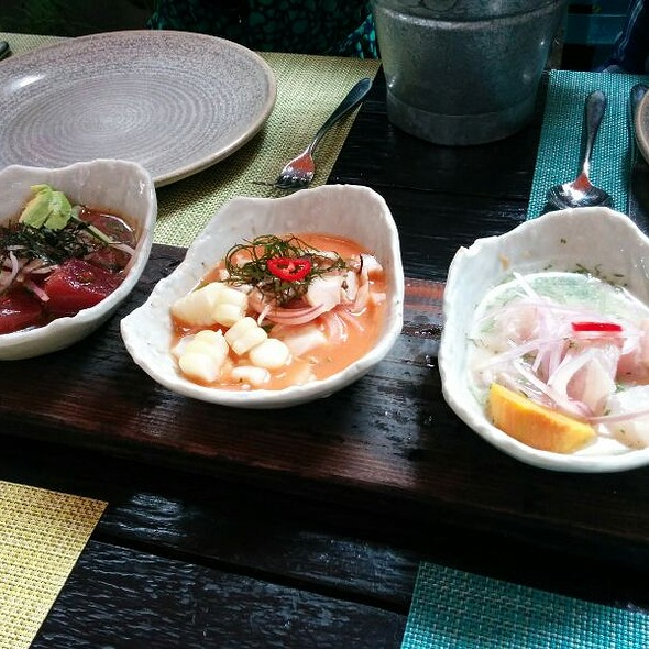 Ceviche Three Ways