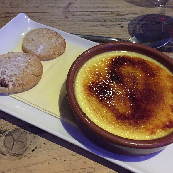 Pear Creme Brûlée With Amaretti Biscuits @ The Ship