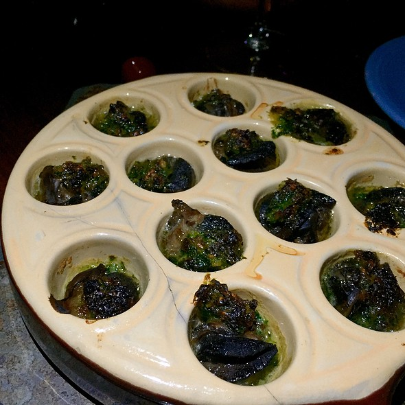 Escargots De Bourgogne At Le Patio