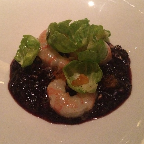 Shrimp, Black Rice, Brussel Sprouts - Gramercy Tavern, New York, NY