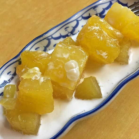 Sweet Tapioca Served With Coconut Milk @ Nakhon Kitchen (AMK Ave 10)