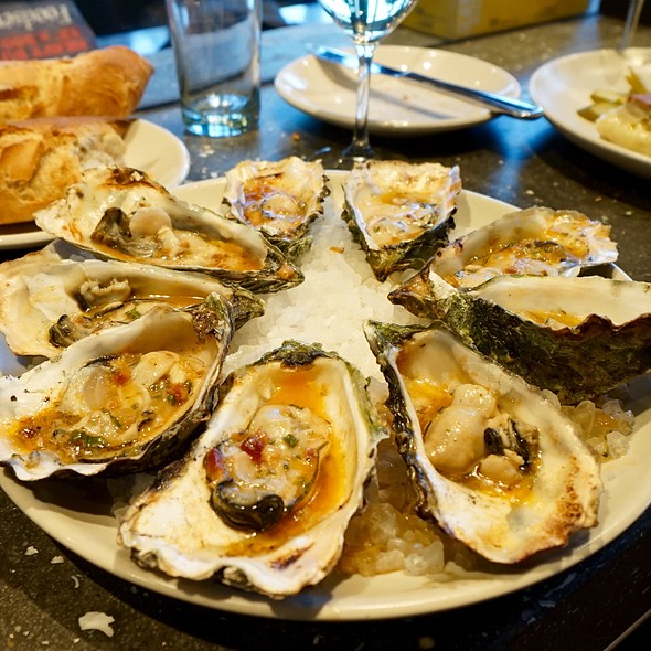 Baked Oysters @ Hog Island Oyster Co.
