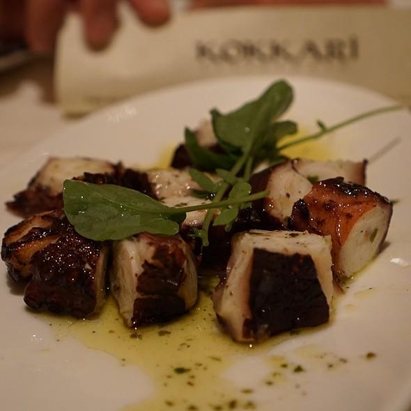 Chargrilled Octopus @ Kokkari Estiatorio