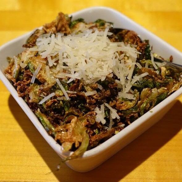 Crispy Brussels Sprouts Leaves