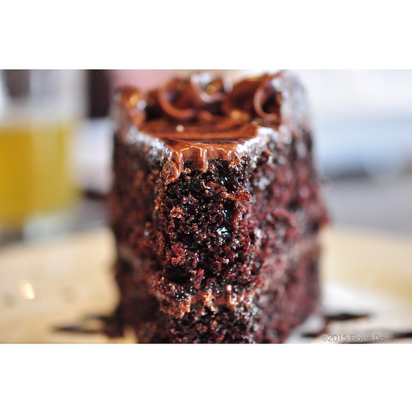 Chocolate Cake @ Nick & Jake's