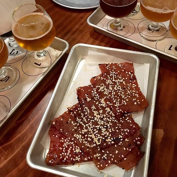 Grilled Kal-Bi Pork Meat Candy @ Beardslee Public House