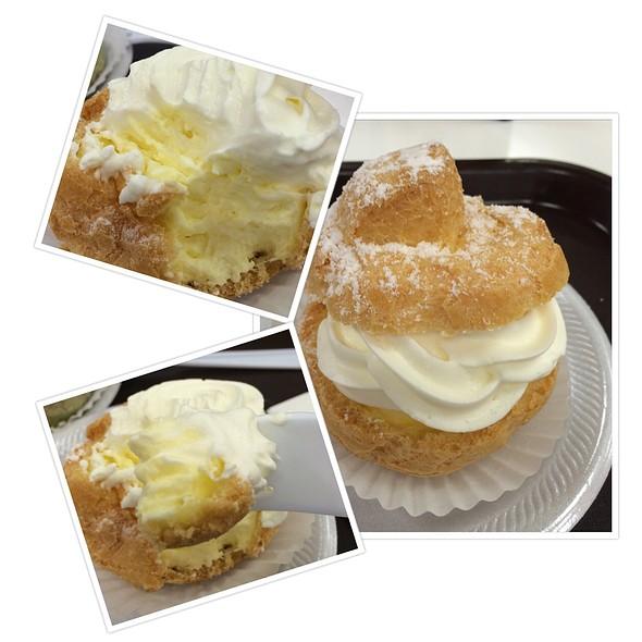 Double Cream Puff @ Kulu Kulu