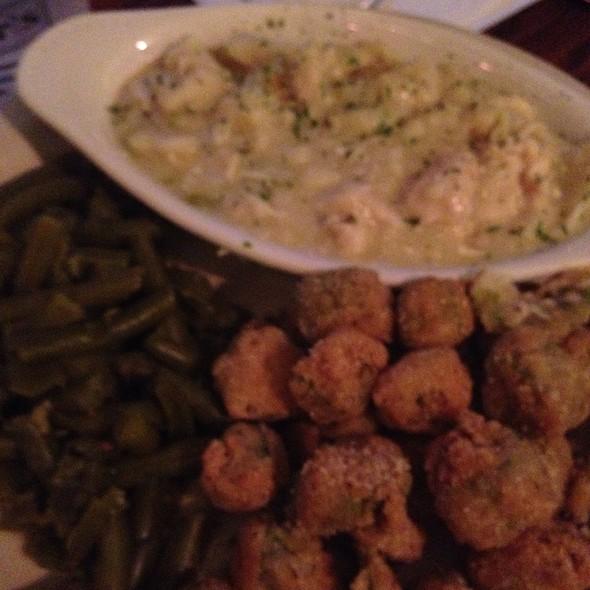 Chicken and dumplings @ Mortimer's Restaurant