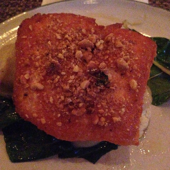 ocean trout @ Andrew Michaels Italian Kitchen