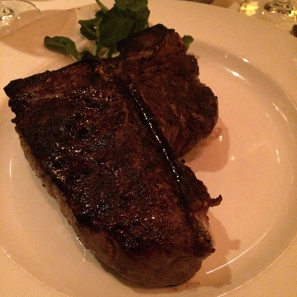 porterhouse steak - The Capital Grille - NY – Chrysler Center, New York, NY