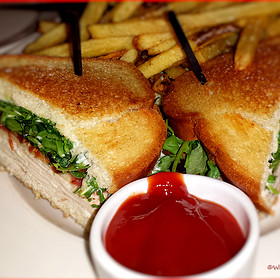 Turkey Sandwich with Brie