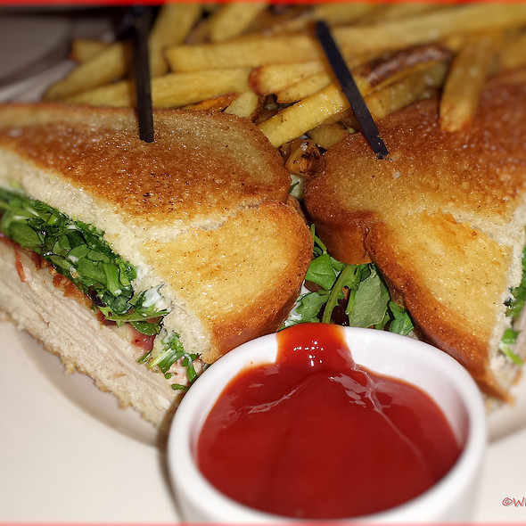 Turkey Sandwich with Brie - Bistro By The Tracks, Knoxville, TN