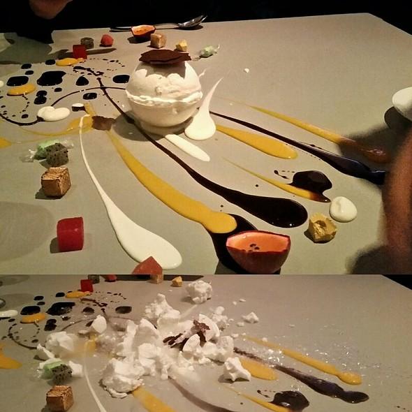 Table Top Dessert Composition  @ Alinea Restaurant