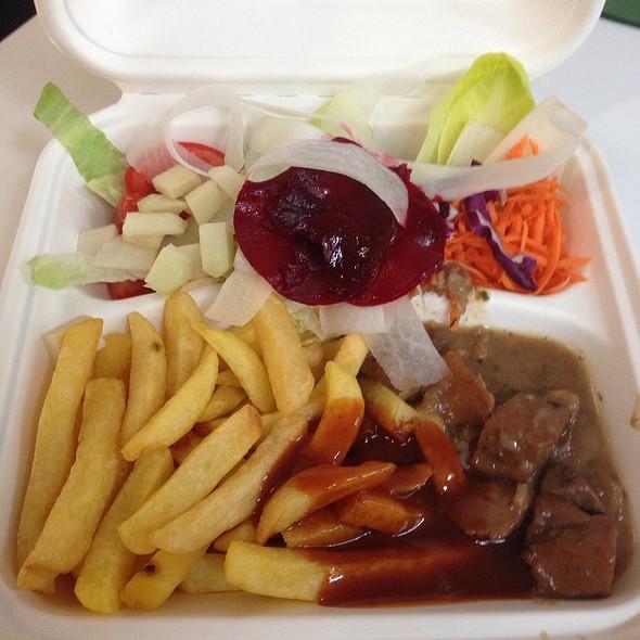 Friet Met Vegetarisch Stoofvlees