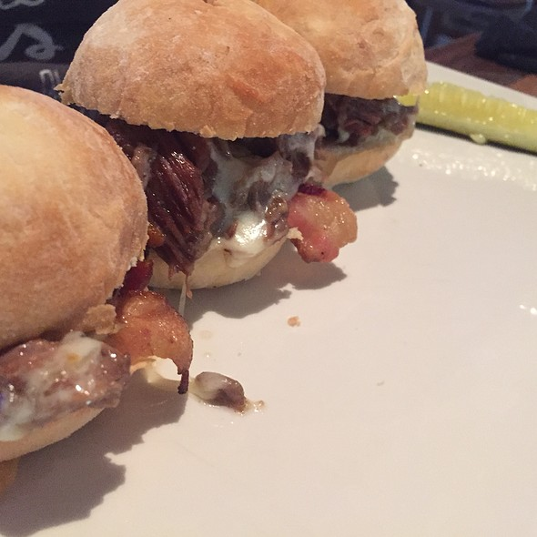 Short Rib Sliders - Wreckers at Gaylord Palms Resort, Kissimmee, FL