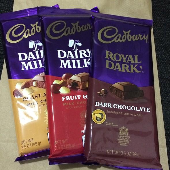 Assorted Cadbury Chocolates @ Walgreens