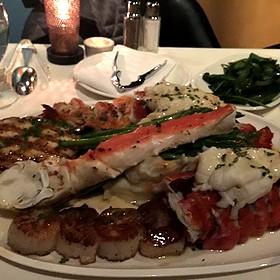 Seafood Bacchanalia - AQUA by El Gaucho, Seattle, WA