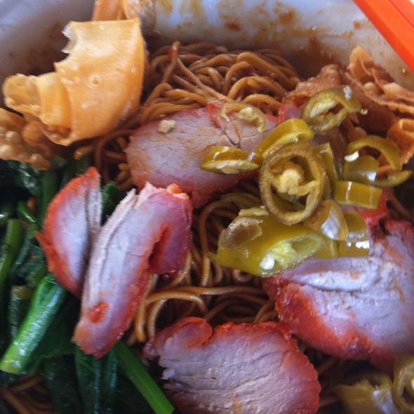 Pontian Wan Tan Noodles