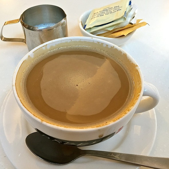 Cafe American With Milk @ Breeks Cafe (JB City Square)