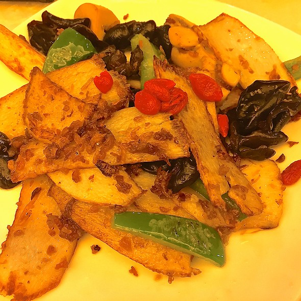 Stir Fried Chinese Yam in XO Sauce @ Souper Tang (JB City Square)