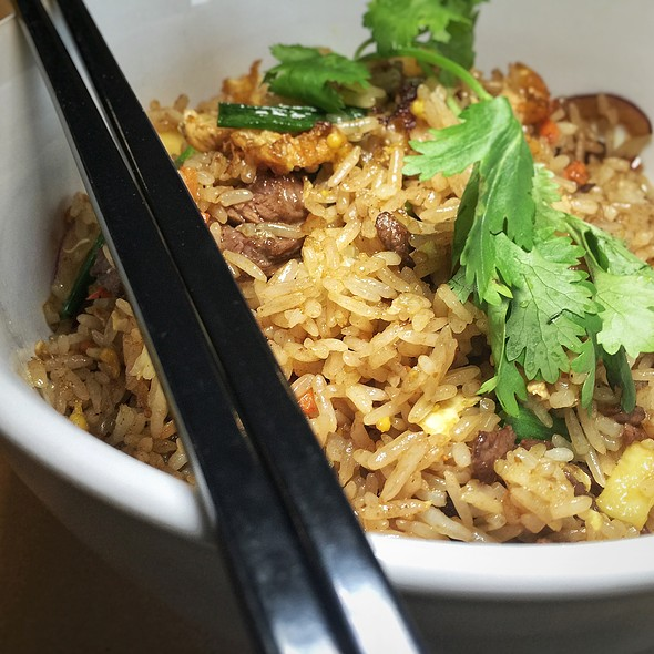 Beef Curry Fried Rice @ Nonla Vietnamese Street Food