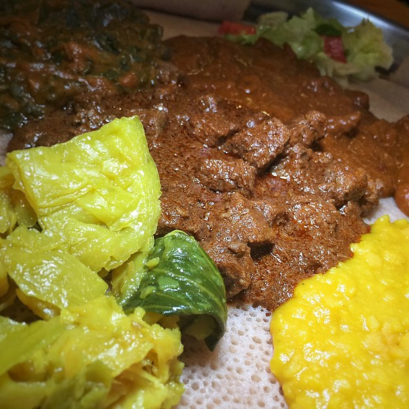 Spicy Beef Stew @ Altu's Ethiopian Cuisine