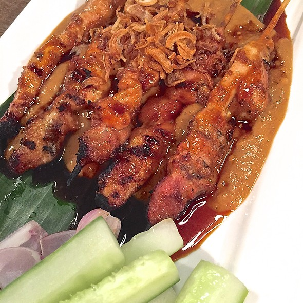 Sate Ayam Madura @ IndoChili - Authentic Indonesian Restaurant (Opposite Great World City)