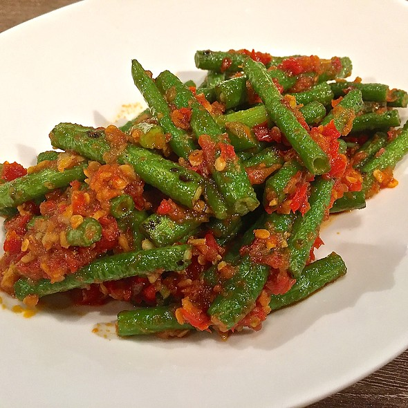 Kacang Panjang Balado @ IndoChili - Authentic Indonesian Restaurant (Opposite Great World City)